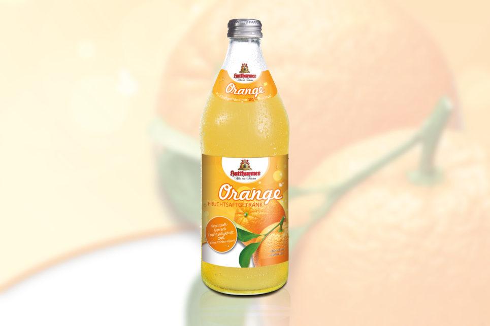 Orange Fruchstsaftgetränk